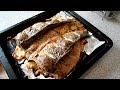 Фрагмент с конца видео Сазан запеченный в духовке. Старославянский рецепт.(видео рецепт)