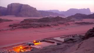 A Cidade de Wadi Rum Jordânia