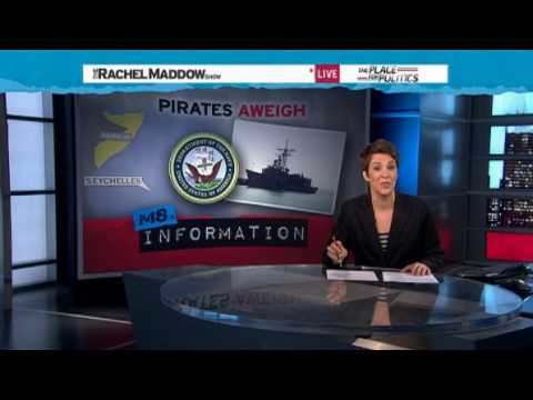Rachel Maddow- US Navy fights back against Somali pirates