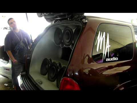 Pitahaya Sound Center Jungle Sound Center 3er Auto