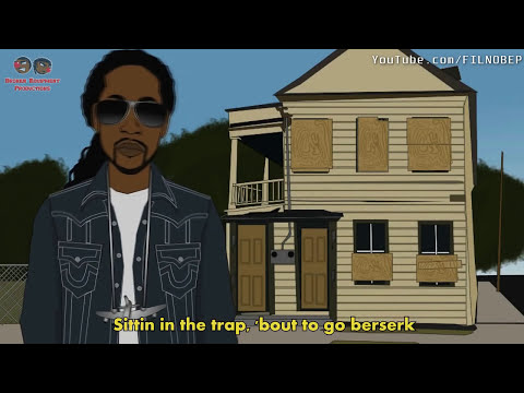 """""""I Be Trappin"""" - 2 Chainz, Waka Flocka, Soulja Boy, Gucci Mane & OJ da Juiceman (PARODY)"""