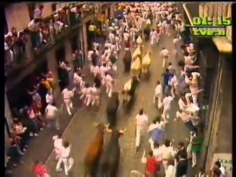 Encierro de San Fermín   8 de julio de 1985 480p