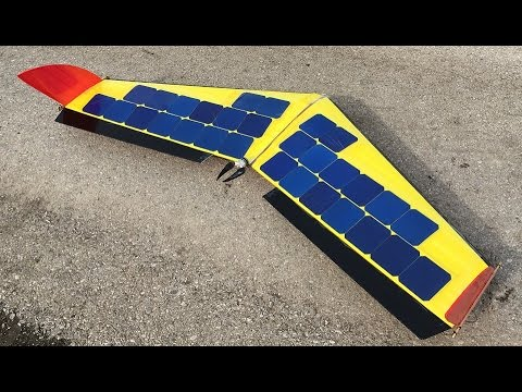 SOLAR powered Plane / Drone /  FPV / Build / RC Aircraft - UCQADfEFM9hhs94QumnouyyA
