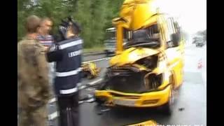 На Житомирщине разбилась маршрутка с пассажирами
