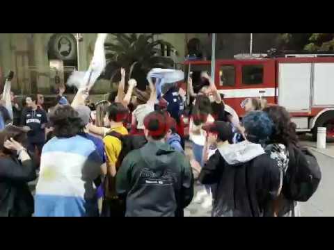 Argentina Campeón del Mundo en Softbol: Los festejos en Paraná
