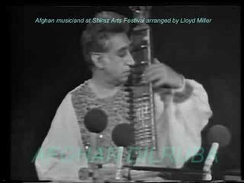 Afghan music at Shiraz Arts Festival, tambur & dilruba solos