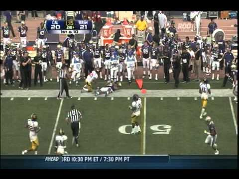 (9-24-2011) Washington Huskies vs. California Golden Bears Football