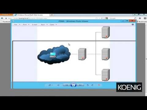 Windows Server 2012 Tutorial - Configure PowerShell Web Access