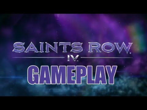 Saints Row 4 Gameplay Walkthrough - PAX Demo
