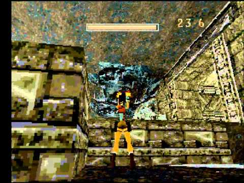 [Beta] Tomb Raider 1, Level 1: Caves; August 1996
