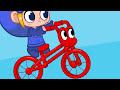 Фрагмент с конца видео - My Red Bike - My Magic Pet Morphle Episode #7