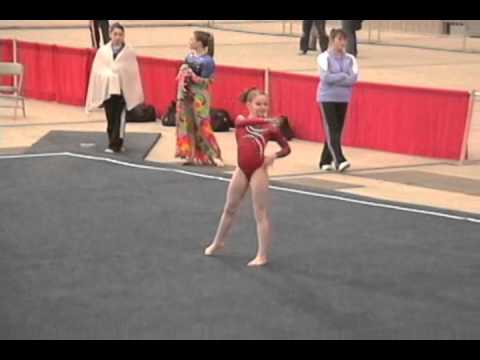Classic Rock Gymnastics Level 8 2011 Floor