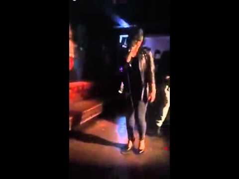 "Demi Lovato singing ""Too Close"" at Wilmer Valderrama's Birthday Party"