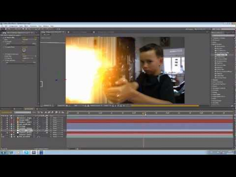 After Effects Tutorial:3: Time Freeze Effects (by Nipan)
