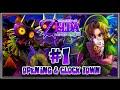 the legend of zelda majora's mask 3d - (1080p 60fps) part 1 - opening & clock town