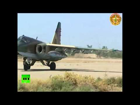 (Russian) Sukhoi jets land in Baghdad to boost fight against ISIS  7/2/14