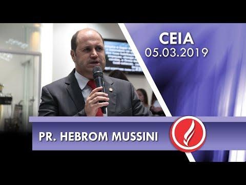 Pr. Hebrom Mussini | O cristão deve desejar o arrebatamento | 2 Pedro 3.10-11 | 05 03 2019