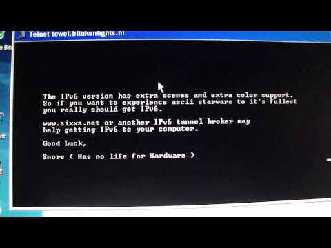 Command Prompt Hack Watch A Movie