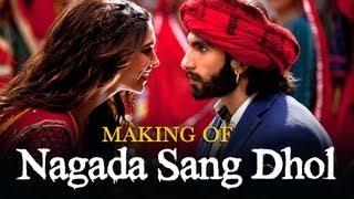 Nagada Sang Dhol Song Making - Ram-leela