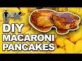 DIY Mac and Cheese Pancakes 🥞- Man Vs Din #874