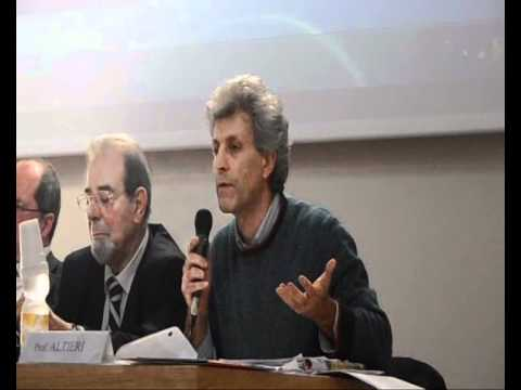 """Intervento del Prof.Giuseppe Altieri al Convegno """"Ambiente e Giustizia. Difesa della vita"""" a Siena"""