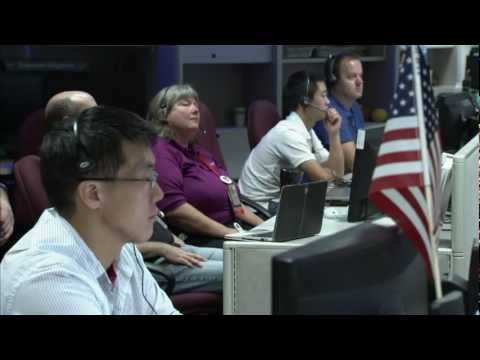 Interplanetary Voicemail Message Sent From Mars | NASA JPL MSL Curiosity Charles Bolden HD