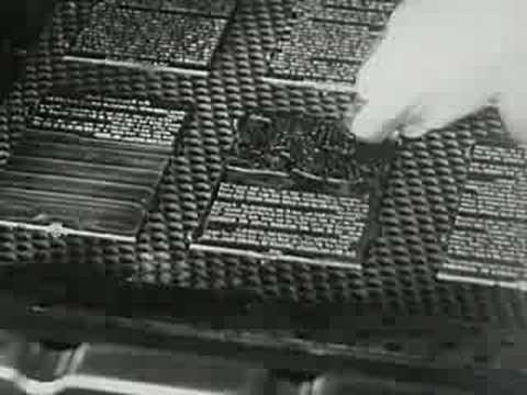 Haciendo libros - Imprenta 1947