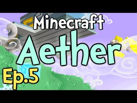 Minecraft - Aether Ep.5 &quot; WE FOUND ONE!!! &quot;