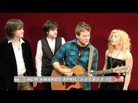 Tyler Ward & The Band Perry Duet -- ACM Awards 2011