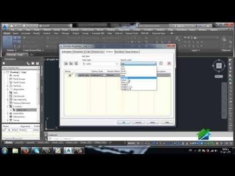AutoCAD CIVIL 3D | Aldarayn Academy | LEC 8