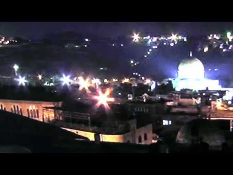 2nd UFO Jerusalem Dome of the Rock Temple Mount  UFO video surfaces from 01/28/2011.