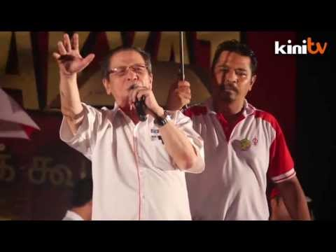 Kit Siang: We need political tsunami from the south to topple BN Part 1