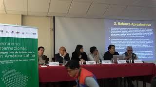 Seminario Internacional, Perspectivas de la Democracia en América Latina - Mesa 3: Democracia y Cultura Política
