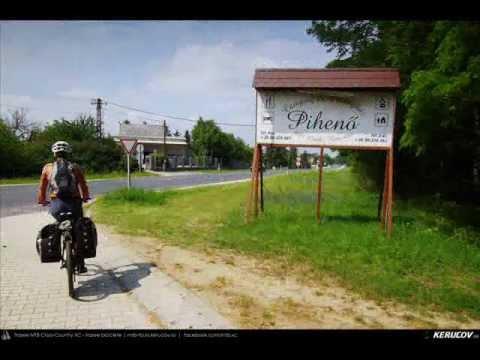 VIDEOCLIP Traseu MTB Gyor - Bony - Bana - Babolna - Acs - Komarom / EuroVelo 6 - 3