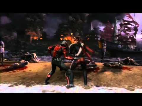 MK9 (2011) Mortal Kombat Kenshi Revealed Trailer 720p HD! MK9 Kenshi Gameplay -rZ_Hdd9z4I0