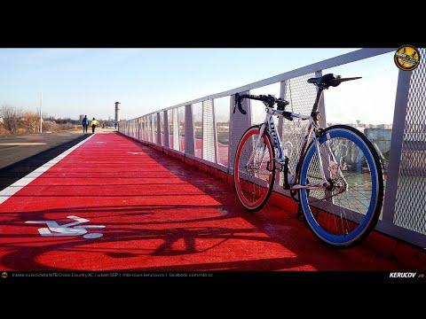 VIDEOCLIP Cu bicicleta prin Bucuresti: Splaiul Independentei - Lacul Morii - Calea Victoriei - Centrul Vechi