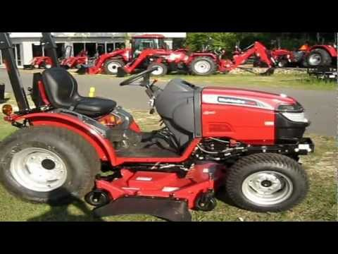 Mahindra Max 28XL with Belly Mower in Action at Safeway Mahindra