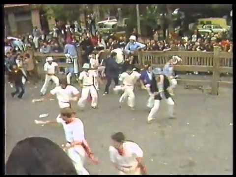 Encierro de San Fermín   14 de julio de 1981 480p