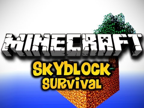 Minecraft Skyblock Survival Ep. 4 w/ Luclin & Wolv21 (HD)
