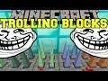Minecraft: TROLLING BLOCKS (SECRET ROOMS, TROLLING, TRAPS, FALLING BLOCKS) Mod Showcase
