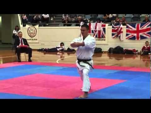 GKR Karate, Kata Kanku-sho (Lachlan Carr)