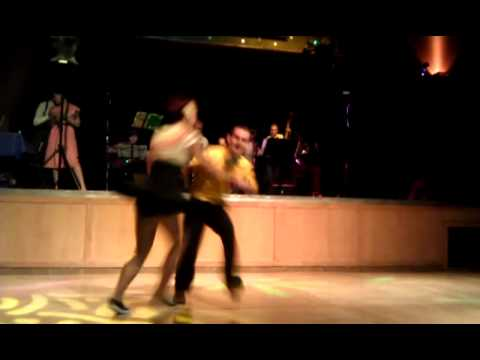 ULHS 2011 - Showcase Winners - William Mauvais & Maeva Truntzer - Ultimate Lindyhop Showdown 2011