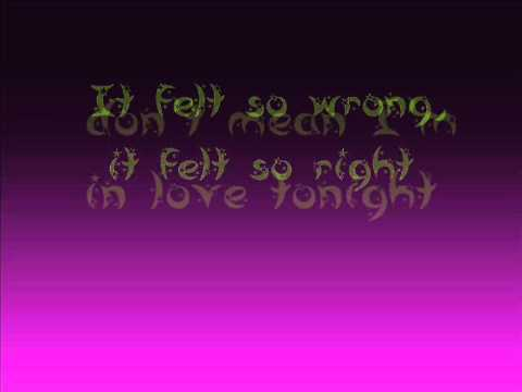 Glee - I kissed a girl lyrics