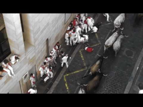 7 de Julio de 2010. Primer encierro de los Sanfermines.