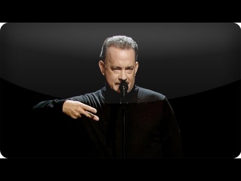"""Tom Hanks Performs Slam Poem About """"Full House"""" (Late Night with Jimmy Fallon)"""
