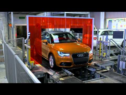 Audi A1 Sportback Produktion Bruessel