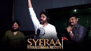 Pawan Kalyan Voice Over For Sye Raa Teaser - Promo