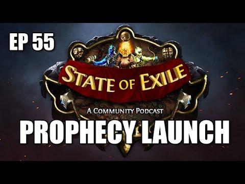 State of Exile Ep:55 PROPHECY Meta Discussion & Uniques Review - ft. ItsYoji & AngryAA - UC4mLMb49hqk4y9lVFtfanlg