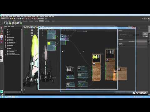 Maya Tutorial: Introduction to ShaderFX in Maya LT - Beginner part 2