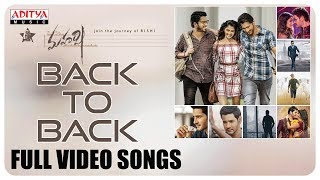 Maharshi Back to Back Full Video Song